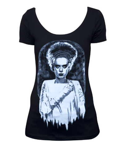The MONSTERS BRIDE Scoop Neck Tee