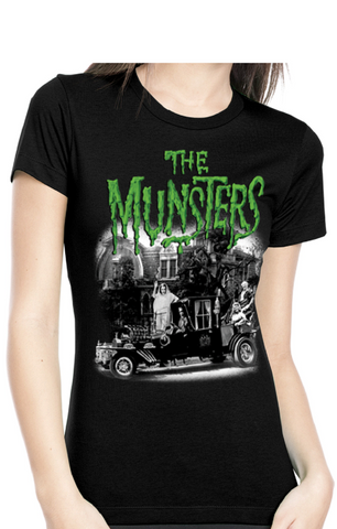 THE MUNSTERS FAMILY COACH Women's Tee