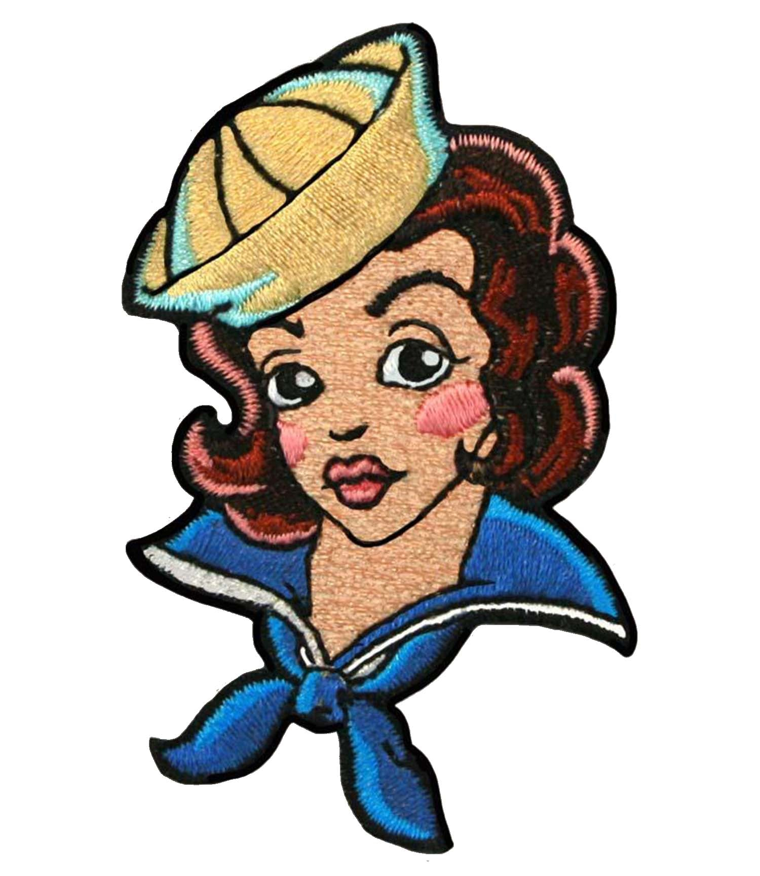 The TATTOO SAILOR GIRL Patch