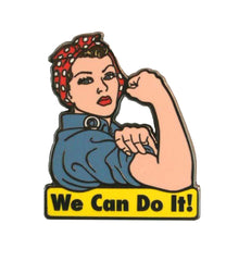 The WE CAN DO IT! Enamel Pin