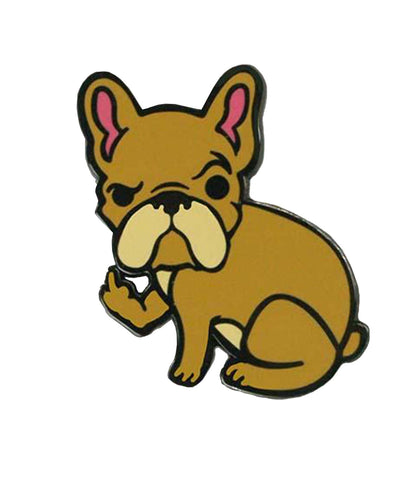 The RUDE FRENCHIE Enamel Pin
