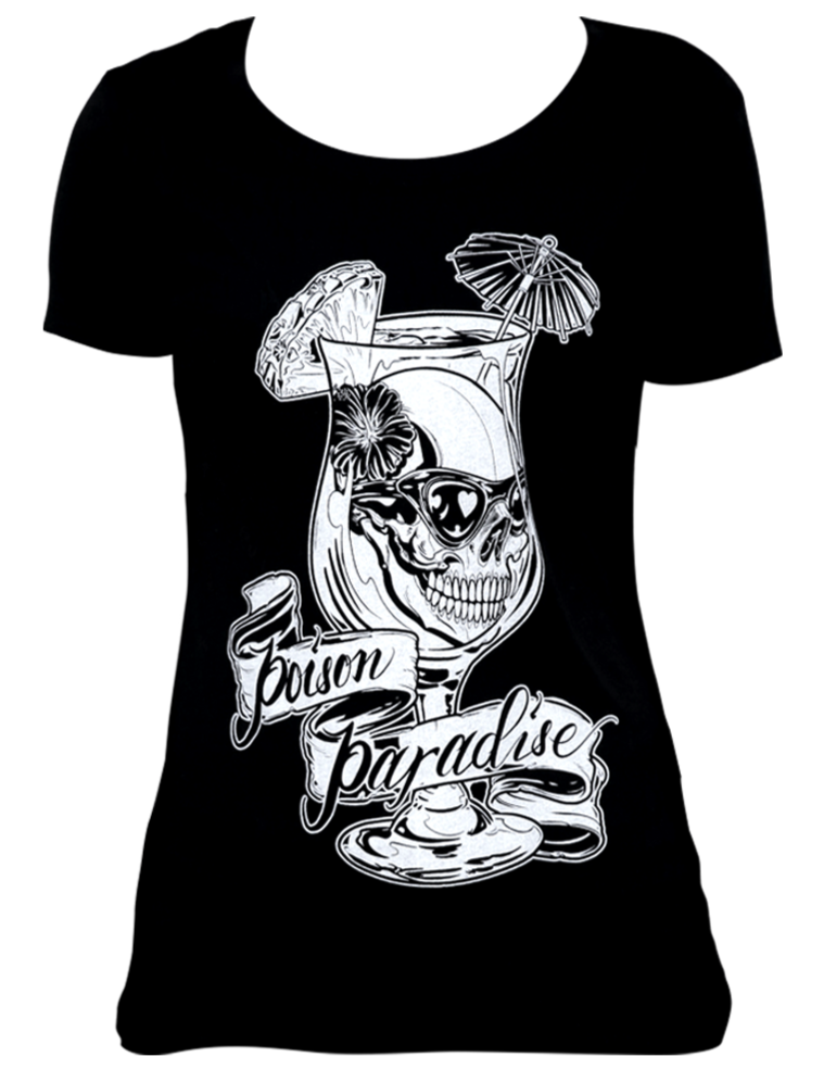 The POISON PARADISE Loose Tee