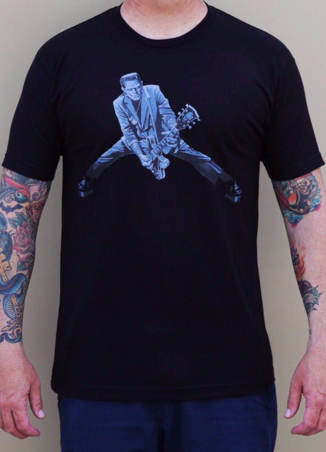 The ROCK N ROLL MONSTER Tee