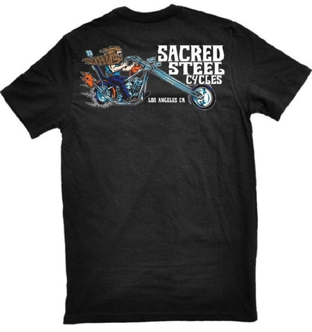 The WEIRD BEARD Tee by Sacred Steel