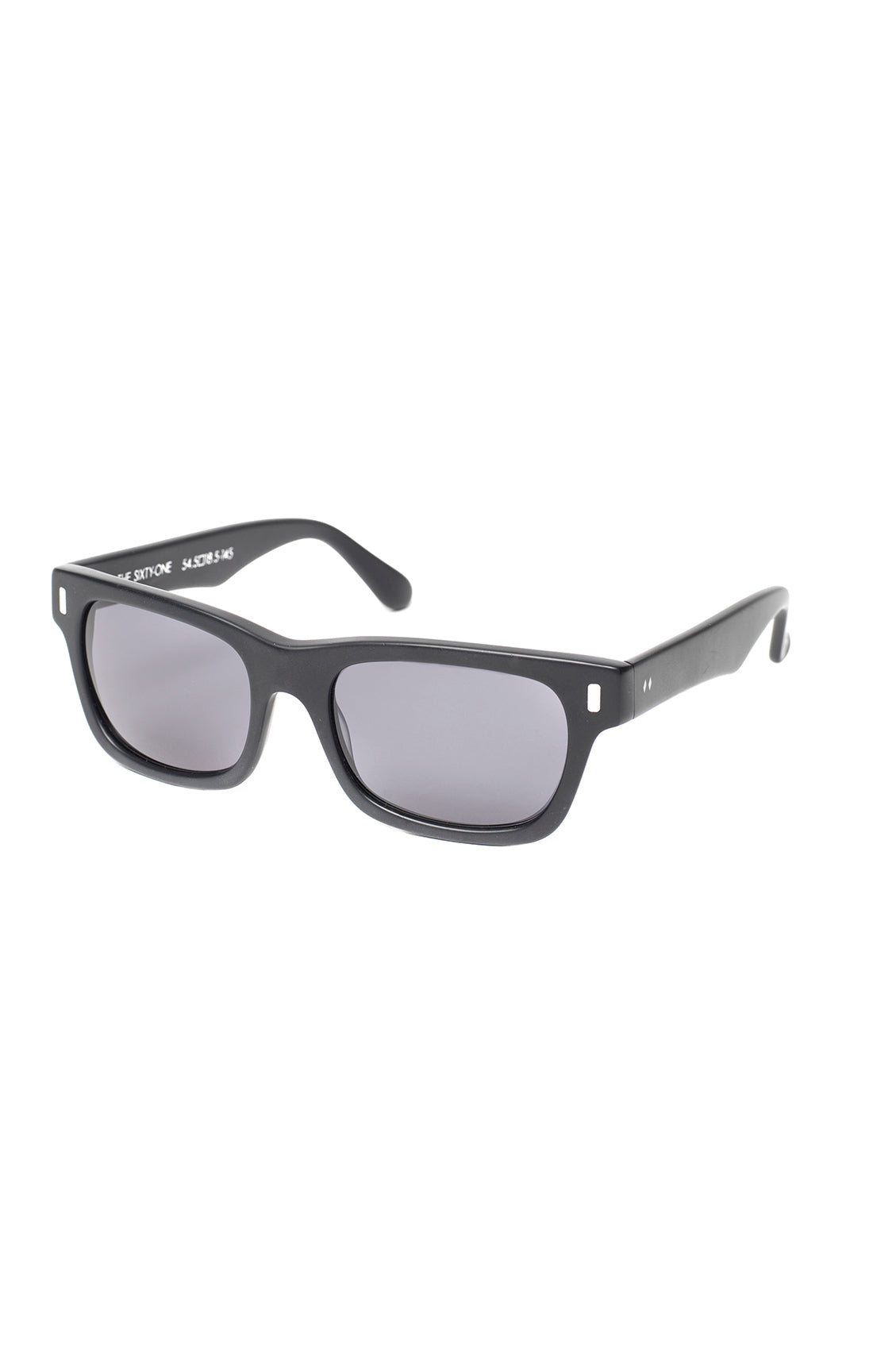 The SIXTY ONE Sunglasses - MATTE BLACK Frames w/ Smoke Lenses