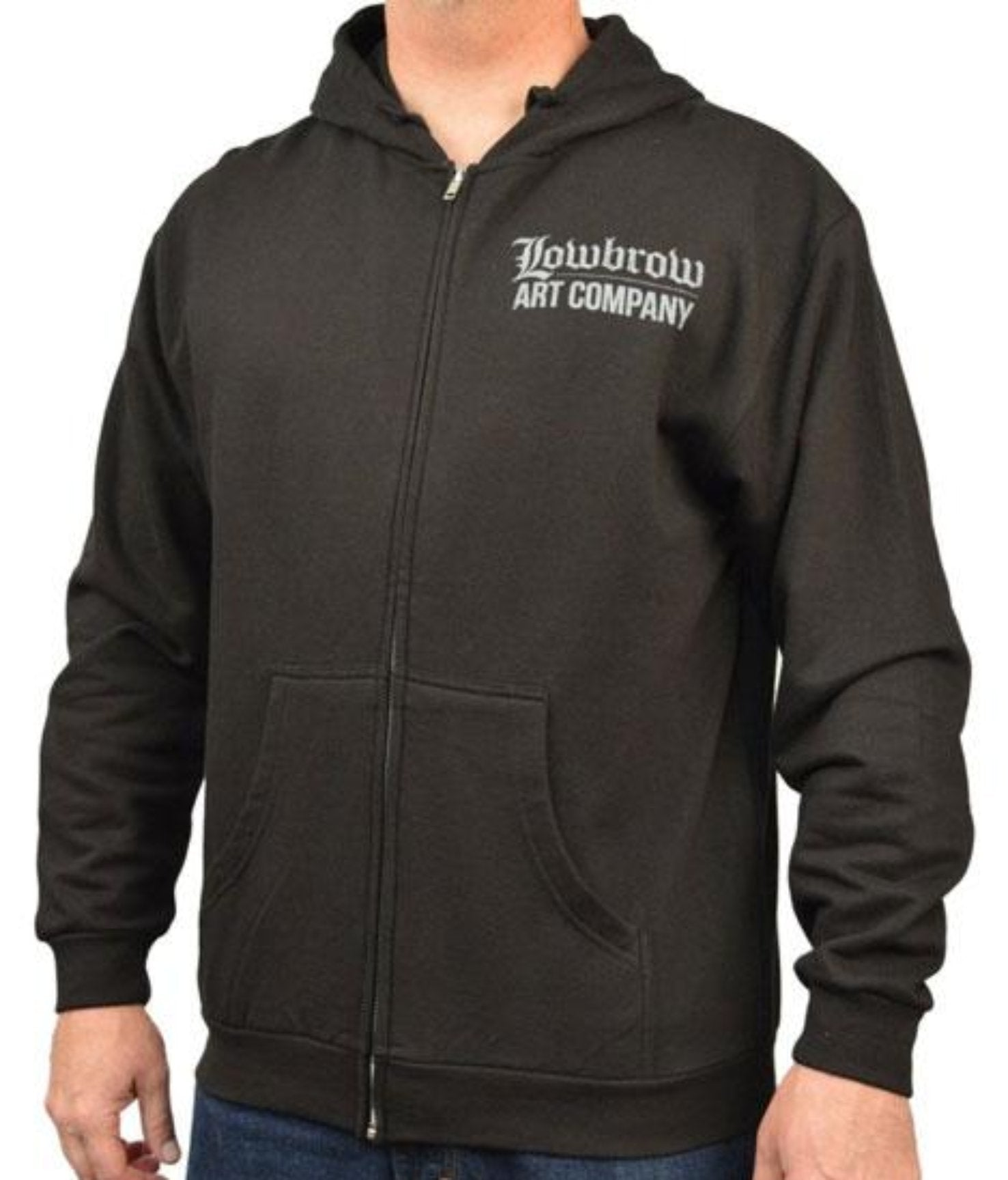 The SPEED DEMON Hooded Full Zip Sweatshirt