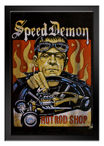 SPEED DEMON Art Print