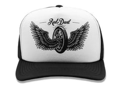 The THUNDER Curved Bill Trucker Cap