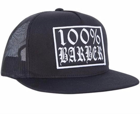 The 100% BARBER Trucker Cap