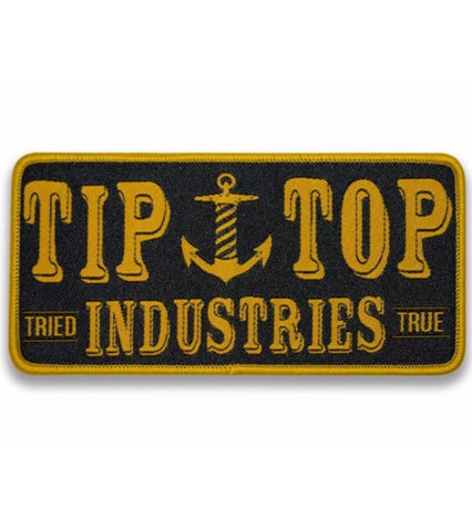 The TIP TOP GOLD ANCHOR Patch