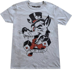 The TIP-TOP WOLF Tee - HEATHER GREY