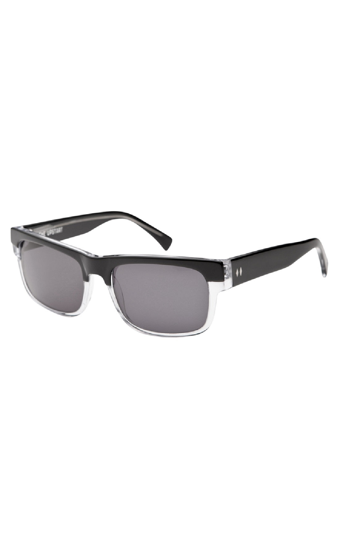 The UPSTART Sunglasses by Tres Noir - Black + Clear Frames with ...