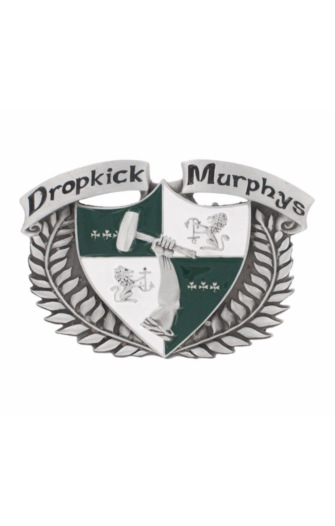 The DROPKICK MURPHY'S Buckle