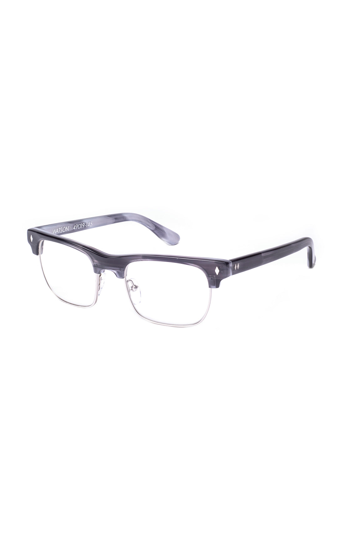 The WATSON Sunglasses by Tres Noir - Grey/Tortoise Frames with Clear ...