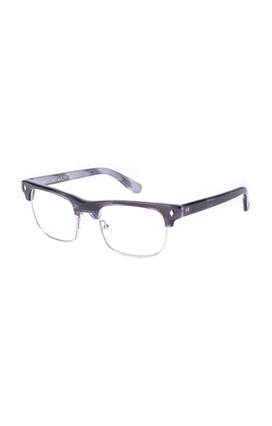 The WATSON Sunglasses - Grey/Tortoise Frames with Clear Lenses - ON SALE!