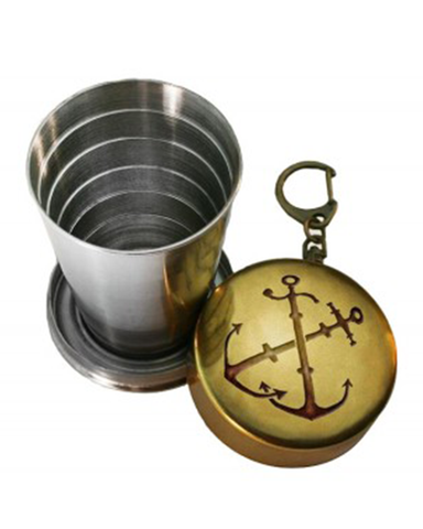 The ANCHORS Portable Shot Glass