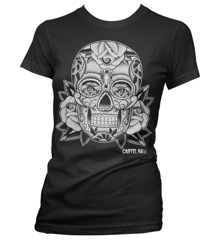 The SUGAR SKULL Women's Tee