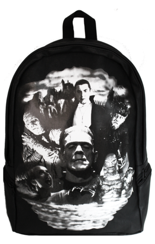 The MONSTER COLLAGE Backpack