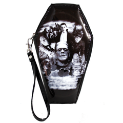 The MONSTER COLLAGE Coffin Wallet