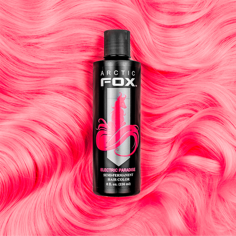ARCTIC FOX - ELECTRIC PARADISE Vegan UV Reactive Neon Hair Dye 4 oz.