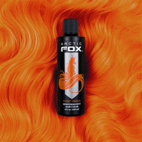 ARCTIC FOX - SUNSET ORANGE Vegan Hair Dye 4 oz.