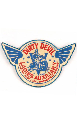 The LADIES AUXILIARY Printed Patch