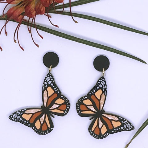 Monarch Butterfly Dangles
