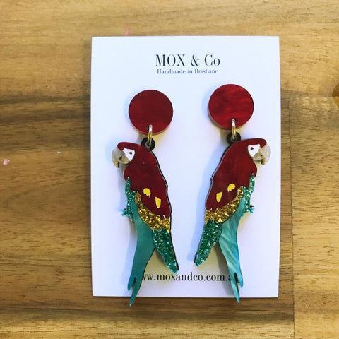 Macaw Dangles