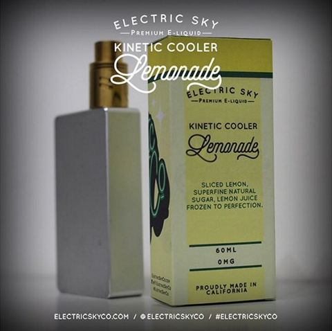 Kinetic Cooler Lemonade 60ML