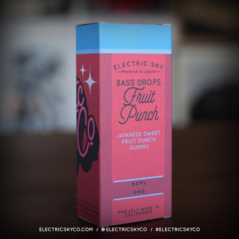 Bass Drops Fruit Punch 60ML