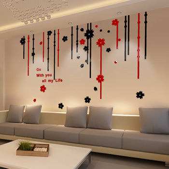 Custom wall decals vinyl wall graphic murals wall stickers