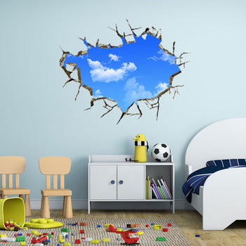 Custom 3d Sky Wall Decal