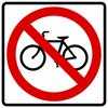 BR5-6-No Bicycles Sign - Municipal Supply & Sign Co.