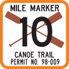 Canoe Trail Sign - Municipal Supply & Sign Co.