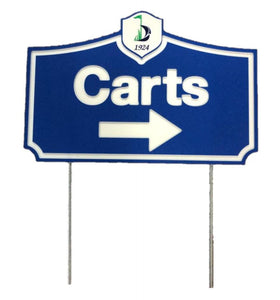 Cart Signs - Municipal Supply & Sign Co.