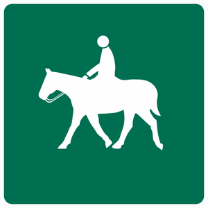 D11-4-Equestrians Permitted - Municipal Supply & Sign Co.
