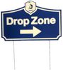 Drop Zone Signs - Municipal Supply & Sign Co.