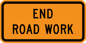 G20-2-End Road Work - Municipal Supply & Sign Co.