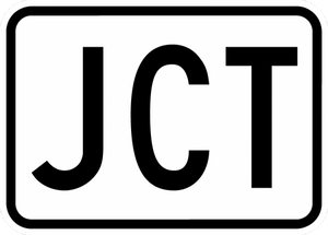 M2-1-Junction Sign