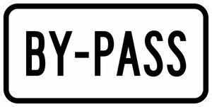 M4-2-By-Pass Sign
