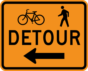 CM4-9a-Bike/Pedestrian Detour - Municipal Supply & Sign Co.