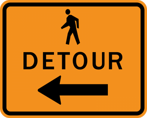 CM4-9b-Pedestrian Detour - Municipal Supply & Sign Co.