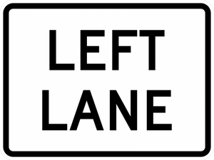 M5-4-Lane Designation Sign - Municipal Supply & Sign Co.