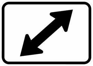 M6-5-Directional Arrow Sign