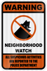 Neighborhood Watch Sign - Municipal Supply & Sign Co.