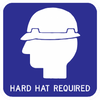 Hard Hat Required Sign - Municipal Supply & Sign Co.