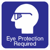 Eye Protection Required Sign - Municipal Supply & Sign Co.