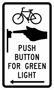 R10-26-Bike Push Button for Green Light (arrow)