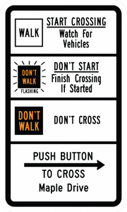 R10-3g-Pedestrian Signs - Municipal Supply & Sign Co.