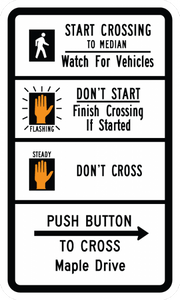 R10-3h-Pedestrian Signs - Municipal Supply & Sign Co.